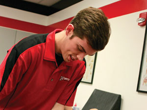 Fascination with human body leads student to pursue kinesiology