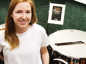 CSUN music major remains clear-minded at all times to retain performance prowess