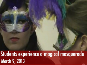 Students experience magical night at 'Mystical Masquerade'