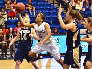 Women's Basketball: CSUN advances to second round with 61-40 win over UC Davis