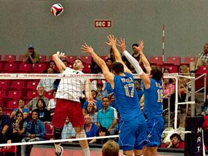 Men's Volleyball: Matadors drop 2-1 set lead against UCLA