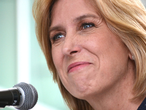 Wendy Greuel reveals Clinton endorsement at VPAC