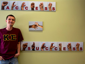 Student finds passion in American Sign Language