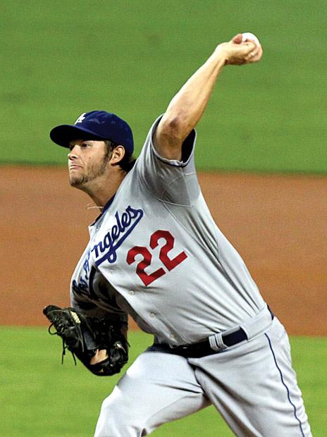 Clayton Kershaw led the Dodgers in 2012 with a 2.53 ERA. Courtesy of MCT