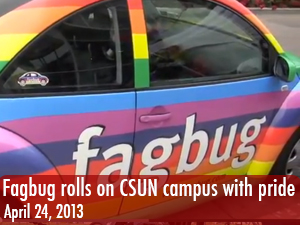 Fagbug comes to CSUN to help students understand hate speech