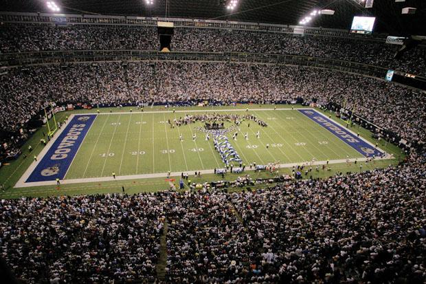 Cowboys Stadium, home of the Dallas Cowboys, ranks fifth in the nation in terms of most eco-friendly stadiums. Courtesy of MCT