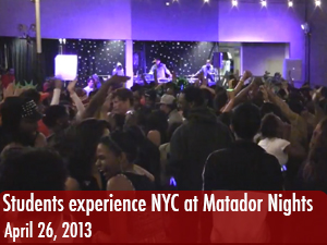 CSUN students experience a taste of NYC at Matador Nights