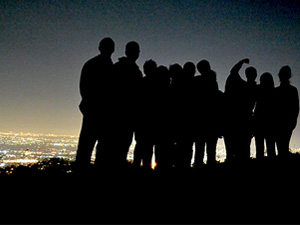 Students find outstanding views of Los Angeles with Outdoor Adventures