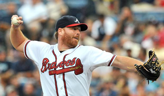 Former Braves pitcher Tommy Hanson was brought to Los Angeles to fix the Angels' weak pitching. Photo courtesy of MCT