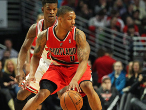 Damian Lillard stands alone as NBAs Rookie of the Year