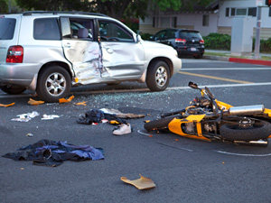 Motorcycle crash near campus leaves man in critical condition