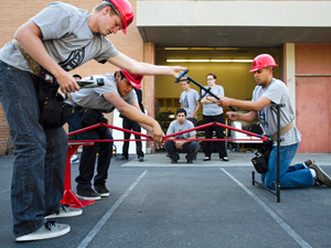 CSUN's Steel Bridge team takes first place, advances to national contest