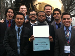 CSUN's Model United Nations team wins national conference
