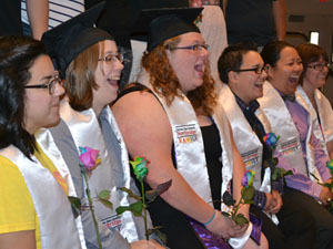 CSUN celebrates diversity at Rainbow Graduation