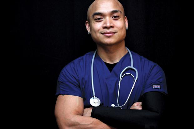 Ramil Garcia, 30, is a registered nurse currently working for a specialty unit in acute rehab at St. John's Reginal Medical Center, where a he works close with patients with spinal cord injuries, brain injuries, and strokes with a primary focus on rehabilitation of spinal cord injury patients. When not working at the hospital, Garcia works part-time as a nursing supervisor and director of an RNA program for a long-term care facility, Shoreline Care Center.
