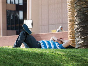 CSUN students discover a short snooze academically beneficial