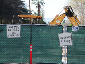 Construction across campus continues despite budget cuts over the years