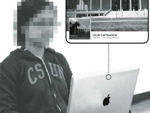 Anonymity makes admitting secrets on CSUN Confessions Facebook appealing