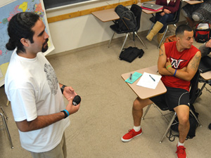 CSUN mentor program, MOSAIC, provides alternative high school students with positive role models