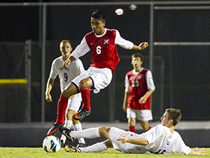 Mens Soccer: Second half rally by Matadors drop Albany 3-0 in home opener