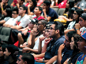 CSUN officials anticipate a record 38,000 plus students to enroll this fall 2013