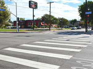 New traffic signal installed to prevent accidents at high risk intersection