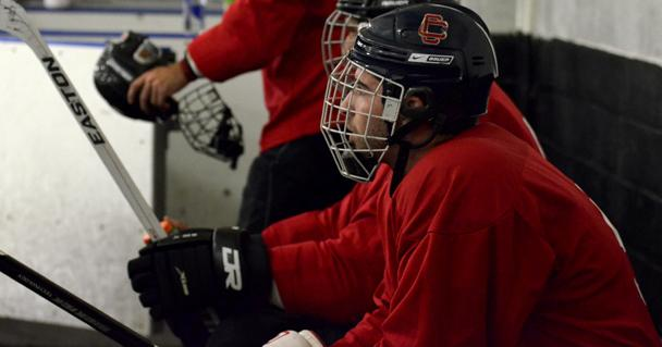 CSUN's ice hockey team holds an open tryout at the L.A. Kings Valley Ice Center. The team has 14 returning players but needs to add depth to its roster in order to compete. Photo Credit: Alex Vejar / Contributor
