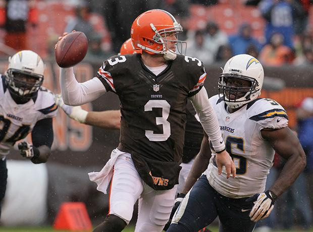 Cleveland Browns quarterback Brandon Weeden looks to break out this year after a sub-par rookie season. Photo credit: MCT