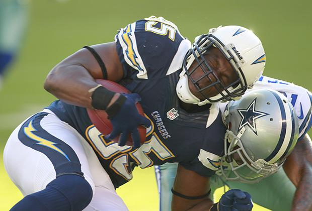 San Diego Chargers tight end Antonio Gates will make a lot of fantasy owners unhappy with his inconsistent production this season. Photo credit: MCT