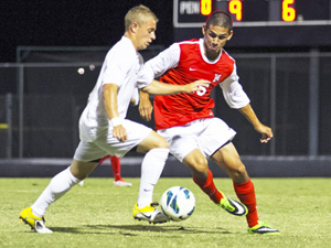 Mens soccer ranked No. 3 in the nation in latest NSCAA poll