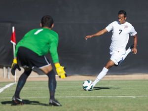 Men's Soccer: No. 6 CSUN rallies in final seconds to defeat Bradley 1-0