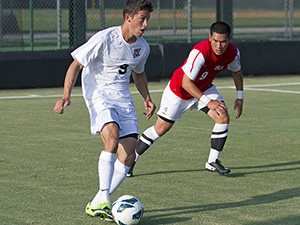 Men's Soccer: No. 3 CSUN knocks off UNLV 2-1, ties school record for best start in program history