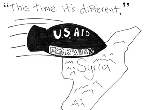 American amnesia may lead to war with Syria