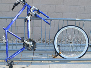 CSUN Police Services warns students about bicycle theft