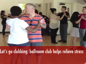 Let's go clubbing with the CSUN ballroom dance club