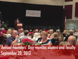 Founders' Day welcomes back 50 year alumni and faculty