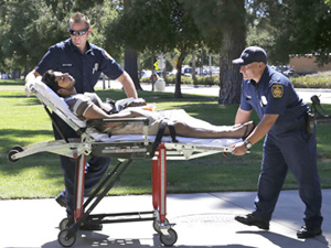 CSUN student passes out in Sierra Hall