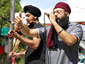 """CSUN community holds a memorial in honor of Jusdeep """"Peace"""" Sethi"""