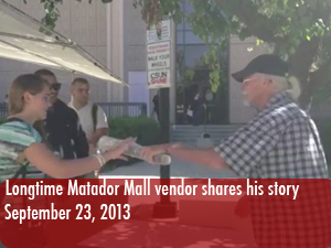 Matador Mall vendor and war veteran shares his experience selling goods on campus