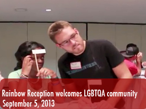 Rainbow Reception welcomes LGBTQA community