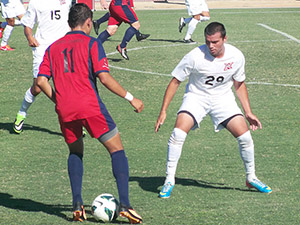 Mens Soccer: #25 CSUN remains perfect with 2-1 victory over Saint Mary's