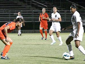 Women's Soccer: Two penalty kicks help Matadors drop Oregon State 3-1