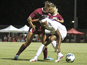 Women's Soccer: Matadors pounce on Lions early, come out with 2-1 victory