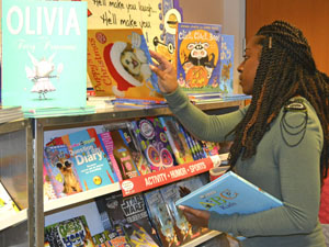Book fair raises money to help fund library for elementary school