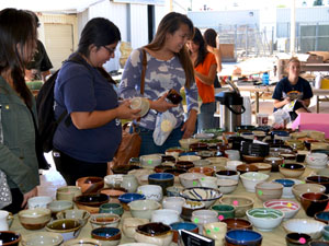 Ceramics Guild serves up art and chili