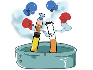 E-cigarettes may not be the safer option for smokers