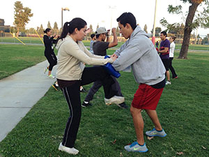 CSUN students and faculty commit to be fit