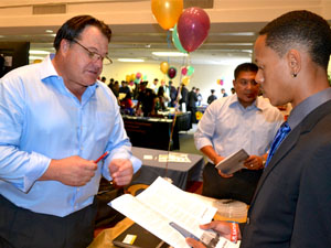 Record number of students and employers attend the fall Job Fair