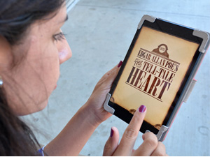 Get scared with Edgar Allan Poe on the iPad and iPhone
