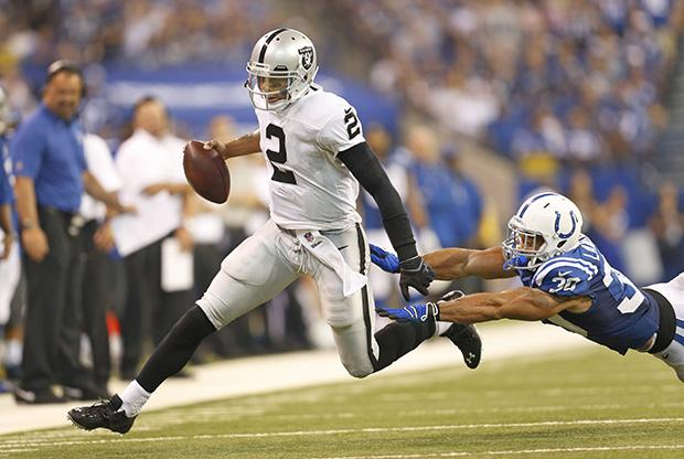 OAKLAND RAIDERS VS. INDIANAPOLIS COLTS